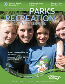 Federal Way Parks, Recreation and Cultrural Services Spring-Summer 2012 Catalog