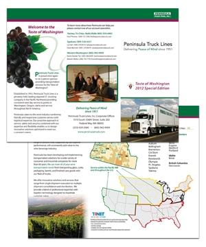 Peninsula Truck Lines - Taste of Washington