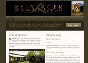 Reininger Winery website