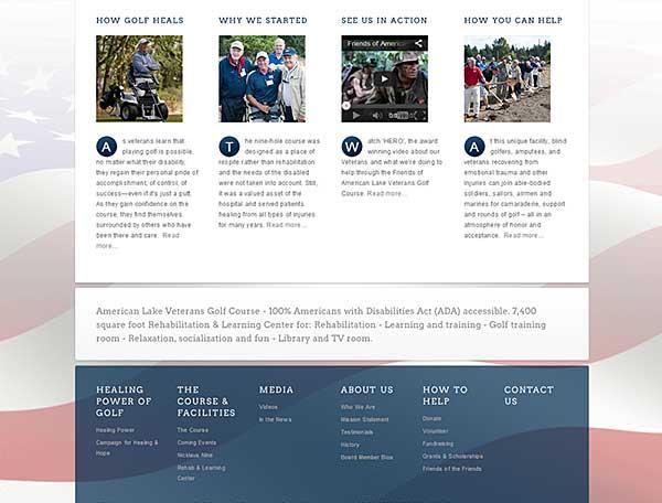 Vets proposed website makeover2
