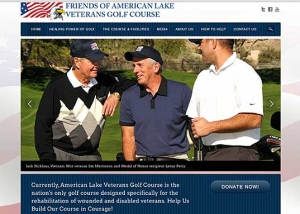 Friends of American Lake Veterans Golf Course website makeover