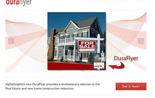 DuraFlyer website by Go To Graphics Gal
