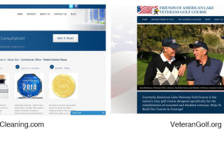 HandmaidCleaning,com-and-VeteranGolf.org-websites