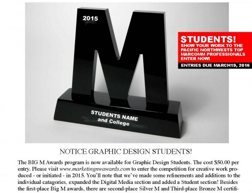New Award Opportunity for Graphic Design Students #studentawards