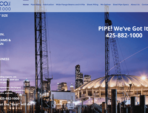 Sexy Pipe Piling website? YES!