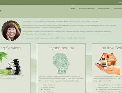 Atwell Healing Arts website