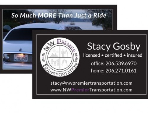 Print Collateral for new website, NW Premier Transportation