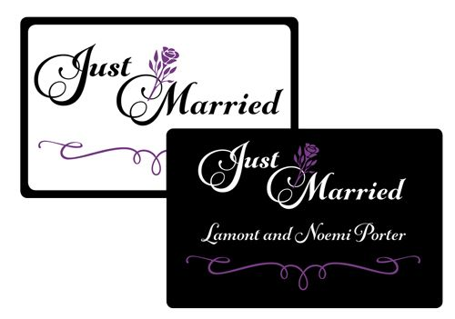 NW-Premier-Transportation-Just-Married-Car-Magnets-by-Go-To-Graphics-Gal