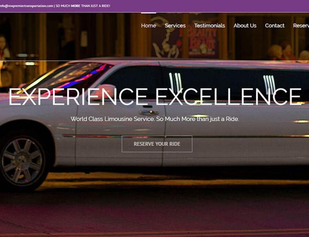 There's a new luxury limo service in town!